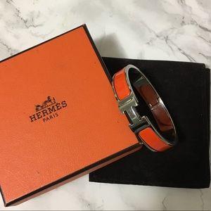 Authentic Hermès Clic Clac PM Enamel Bangle